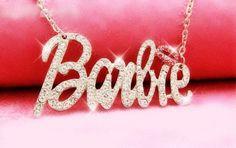 NICKI MINAJ Barbie Necklace. i want this. SO FUCKING BAD