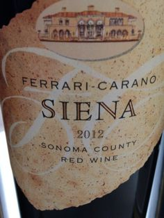 Three Sizzling Summer Reds from Ferrari-Carano Vineyards and Winery
