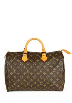 LOUIS VUITTON Monogram Speedy 35 Satchel  Great Deal!!