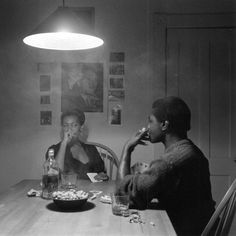 Untitled (Man Smoking/Malcolm X) from The Kitchen Table Series, 1990 by MacArthur fellow Carrie Mae Weems African American Artist, American Artists, Fosse Commune, Carrie, Man Smoking, Malcolm X, Feminist Art, New Artists, Anos 60