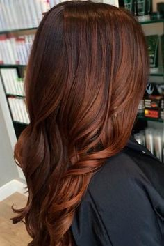 Deep Cooper Ombre for Brown Hair 2