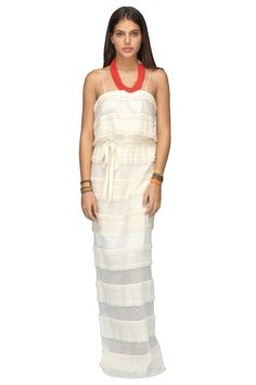 Rhoda Tiered Lace Dress