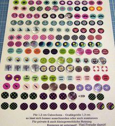AUSDRUCK 164  Cabochon-grafiken  von ஐღKreawusel-aufgehübscht✂ஐ  auf DaWanda.com