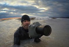 """Dave Sandford has always been drawn to the water. """"From my early childhood, I've always had a fascination with oceans and lakes, and the creatures that live within them."""" He recently spent time on Lake Erie shooting the Great Lake's turbulent fall season."""