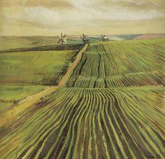 Green Autumn, Zinaida Serebriakova