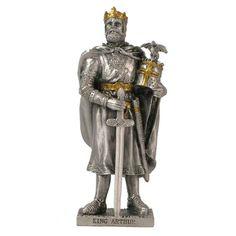 Knight Models, Pewter Plates, Golden Crown, Model Maker, English Heritage, Medieval Armor, Metal Models, King Arthur, Stuff To Buy