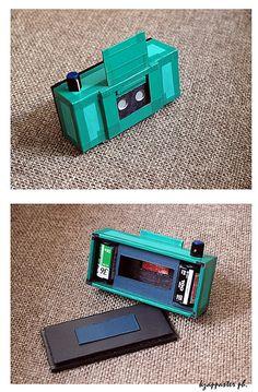 handmade 35mm overlapping stereo pinhole camera by kzappaster, via Flickr