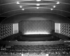Interior of the Odeon Cinema, Flat Street