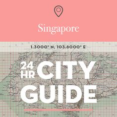 24 Hours in Singapore – Design*Sponge Singapore City, Singapore Malaysia, Singapore Travel, Malaysia Tour, Bali Honeymoon, Interior Design Singapore, México City, Oh The Places You'll Go, Asia Travel