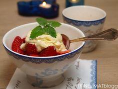 » Hjemmelaget vaniljeiskrem