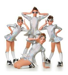 Futuristic costume