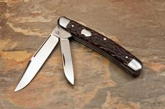 "Ken Erickson Serpentine Jack. 3 5/8 "" closed.  Beautiful customer pocket knife."