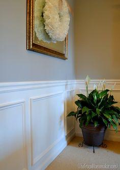 dining room/chair rail insp