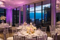 Impress your guests with the views from our 39th floor Penthouse Ballroom. www.wyndhamgrandchicagoriverfront.com