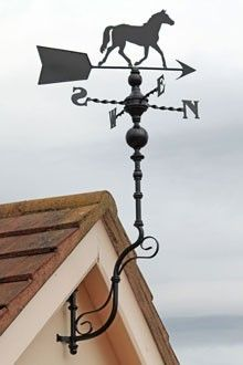 Weather Vane Antique Style Unique Design Horse