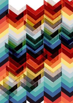 chevron...what am I missing here???? Used to be called UGLY ZIG ZAG or ric rack....but always UGLY.....am I wrong?
