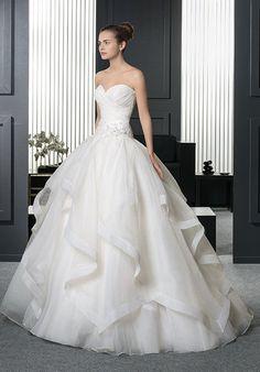 Sophia tolli y11716 tropez wedding dress just a dream two by rosa clar romeo wedding dress the knot junglespirit Choice Image
