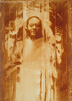 Yogananda - a Buddha of our time - Painting - Diffusion - by Roland van der Vogel