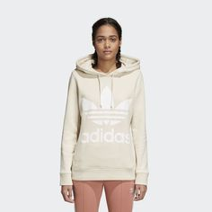 b5c2df878057 Shop the TREFOIL HOODIE - Beige at adidas.com us! See all the