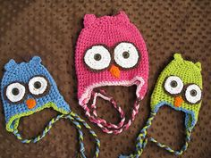 Ravelry: sew4you's Owl Hat