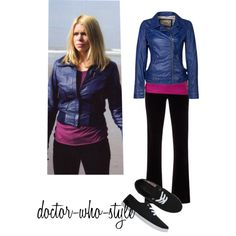 """""""rose tyler"""" by doctor-who-style on Polyvore"""
