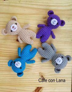 Cafe Con Lana: Bears amigurumi