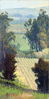 Sonoma Plein Air, 2009 Artist Choice Winner, Robert Sandidge, Sonoma Valley Blog