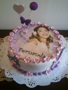 Torta Violetta en fototorta...