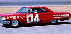 John Sears Nascar Race Cars, Old Race Cars, Sports Car Racing, Auto Racing, 1964 Ford, Daytona 500, Ford Galaxie, Vintage Race Car, Car Pictures