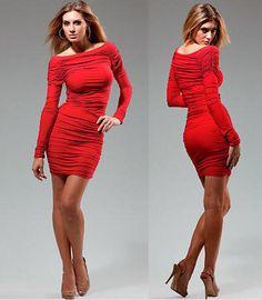 Vestidos para noche vieja color rojo - Para Más Información Ingresa en: http://vestidoscortosdemoda.com/vestidos-para-noche-vieja-color-rojo/