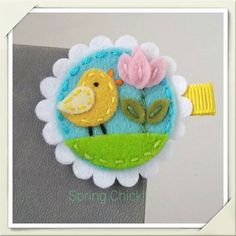 Check out this item in my Etsy shop https://www.etsy.com/listing/228942823/spring-baby-chick-wool-felt-alligator