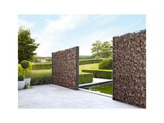 Jardin • gabion de façon naturelle • www.betafence.be/fr-be # livios.be