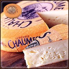 Chaumes - cheese ... this stuff is so beautifully pungent, I can't get enough.