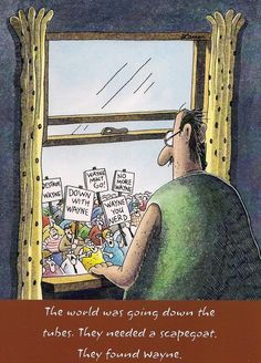 Poor Wayne | The Far Side