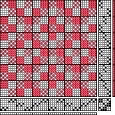 Martinsson & Eriksson   false double weave   6-shaft, 6-treadle