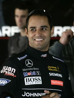 Juan Pablo Montoya, drove for Williams & McLaren and won 7 GPs including the 2003 Monaco GP