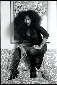 Miss Chaka Khan...I need my hair to be that big