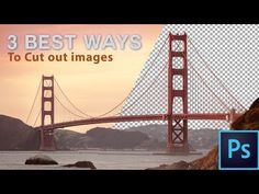 The 3 Easiest Ways To Cut Out Images In Photoshop - YouTube
