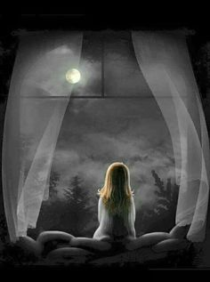 full moon magic- love this image.such quietness it reveals Look At The Moon, Over The Moon, Stars And Moon, Talking To The Moon, Les Gifs, Kitty Images, Moon Magic, Beautiful Moon, Moon Art