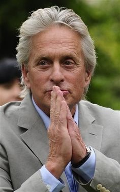 """Michael Douglas has to be the greatest actor of all time..every roll I see him in, I think """"he plays that character so perfectly!"""""""