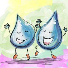 Spreekwoord zij lijken als twee druppels water. Site over spreekwoorden en hun…