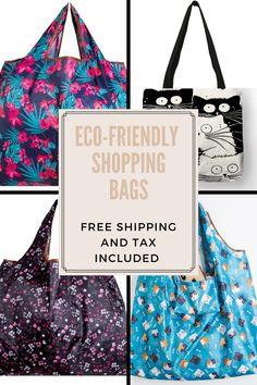 ECO-FRIENDLY Shopping Bag Reusable Shopping Bags, Reusable Tote Bags, Large Handbags, Wallets For Women, Eco Friendly, Purses, Stuff To Buy, Big Purses, Handbags