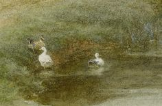 Helen Allingham 'A kentish cottage'(detial) 19thC watercolour | Flickr - Photo Sharing!