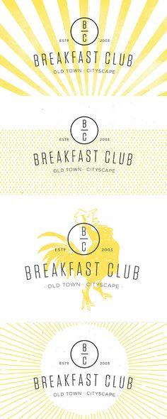 Kitchen Sink Studios | Breakfast Club Logo Concepts