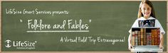 Here's a great virtual fieldtrip about folklore and fables - register here.