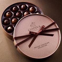 Ladies and gentleman, Godiva is always a good idea.