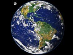 The Earth, the Moon