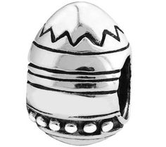 Prerogatives Sterling Easter Egg Bead — QVC.com