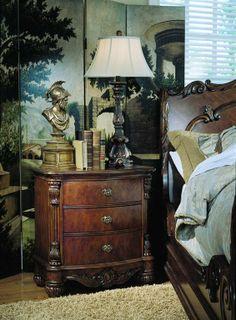 Edwardian Nightstand (Edwardian Nightstands)   Pulaski Furniture   Home Meridian