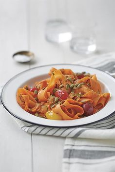 Need a tasty, healthy recipe for this weekend? Try Amie's Coastal Carrot Fettuccine!